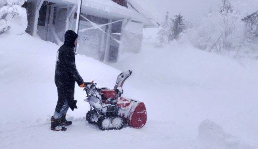 北海道で除雪機をめぐる事故が相次ぐ。江別では除雪機が燃えて火事。留萌では87歳の男性が一酸化中毒で亡くなる。