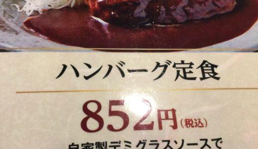 ランチパスポート札幌2017 P73 とりの介 ハンバーグ定食
