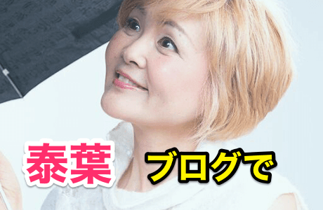 『泰葉』ブログで山内氏への「虚言」を認め謝罪‼️驚きの真実。