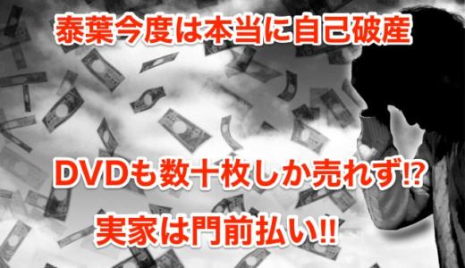 【泰葉今度は本当に自己破産】DVDも数十枚しか売れず⁉︎実家は門前払い‼︎
